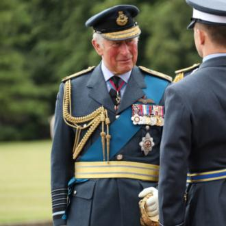 Prince Charles attends graduation ceremony for RAF officers