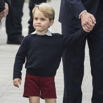 Prince George Gets Tennis Lesson From Roger Federer