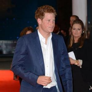 Prince Harry Was 'Protecting' Naked Girl