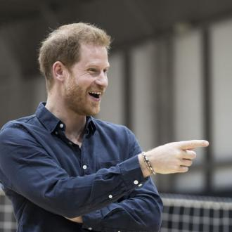 Prince Harry was rescued from peril by Basil Brush creator