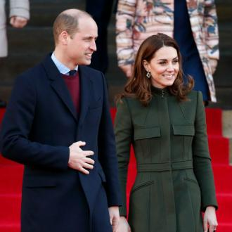 Prince William and Duchess Catherine pay tribute to NHS on first post-lockdown engagement