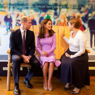 William and Catherine attend Mental Health Summit