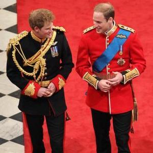 Princes William And Harry's Bad Wedding Jokes