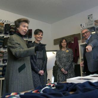 Princess Anne visits Corgi to unveil new Doctor Who range