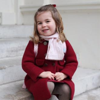 Princess Charlotte Attends First Day Of Nursery