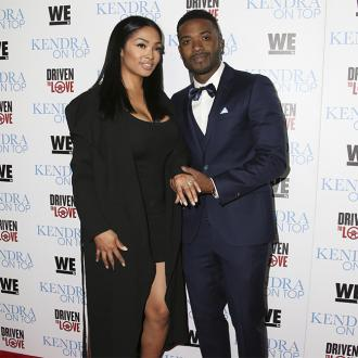 Ray J always travels with his family