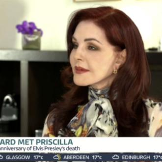 Priscilla Presley says she's 'friends' with Sir Tom Jones
