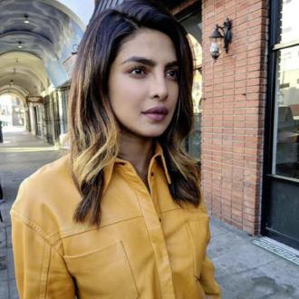 Priyanka Chopra debuts honey-blonde ombre