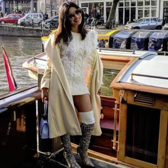 Priyanka Chopra wore a jumper with no trousers to her bachelorette party