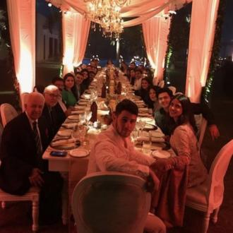 Priyanka Chopra And Nick Jonas Have Thanksgiving In India