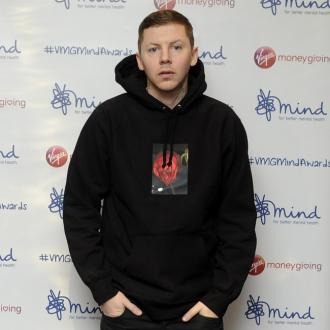 Professor Green's car damaged in hit and run
