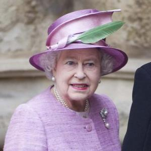Queen Elizabeth Without Philip At Thanksgiving Service
