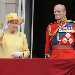Prince Philip Attends Trooping The Colour