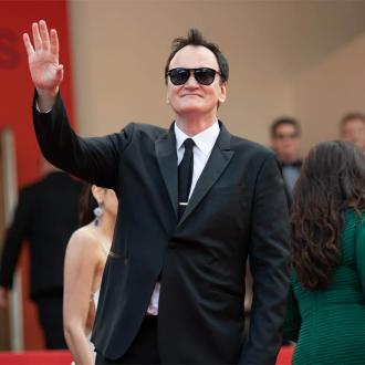 Quentin Tarantino snaps in press conference