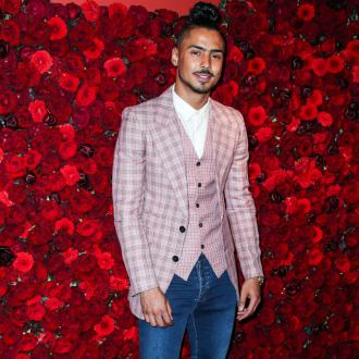 Quincy Brown took snake to NYFW