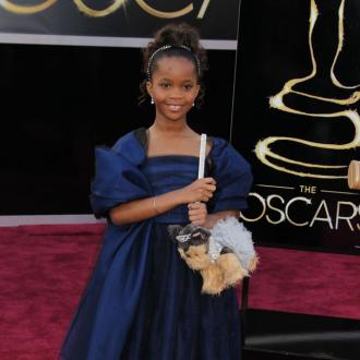 Quvenzhané Wallis for Armani Junior