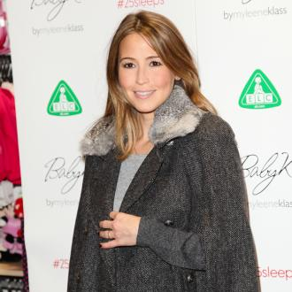 Rachel Stevens' daughter looked like 'little kitten'