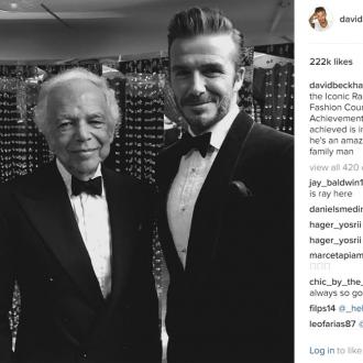 David Beckham believes Ralph Lauren is 'incredible'