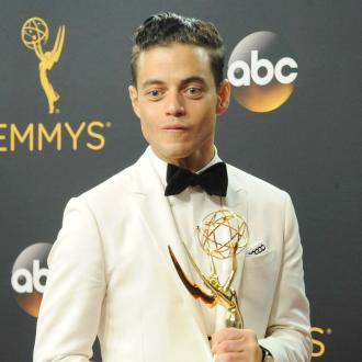 Rami Malek's billboard accident