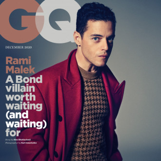 Rami Malek had to play a Bond villain