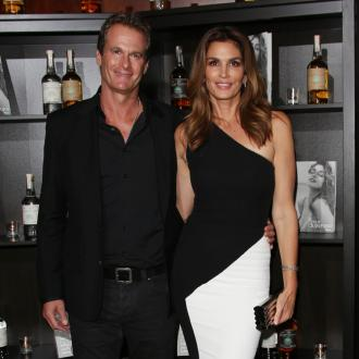 Cindy Crawford advises son Presley Gerber not to fall on the catwalk