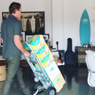 Rande Gerber's special delivery for the Clooneys