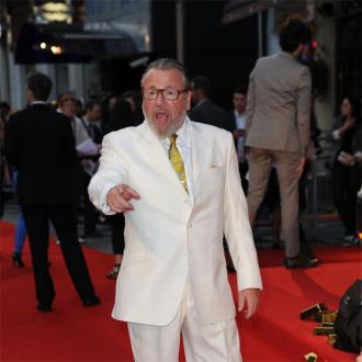 Ray Winstone isn't a tough guy at home