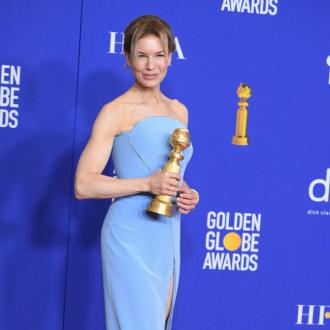 Renee Zellweger happy to be back at Golden Globes