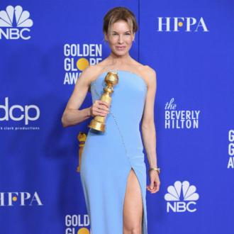 Renee Zellweger goes for modern Hollywood glamour