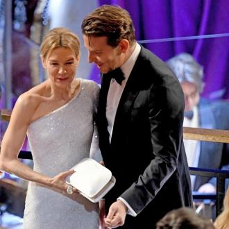 Renee Zellweger and ex Bradley Cooper reunite at Oscars