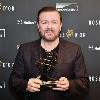 Ricky Gervais wins at Rose d'Or Awards