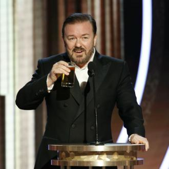 Ricky Gervais mocks audience in opening monologue