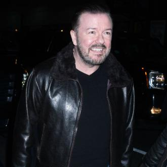Ricky Gervais sticks with Italian food