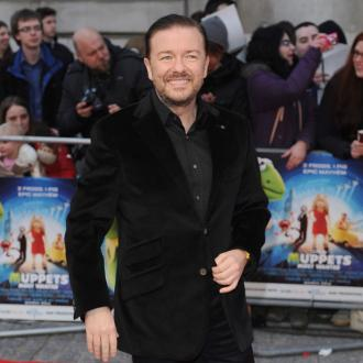 Ricky Gervais honoured for humanitarian work