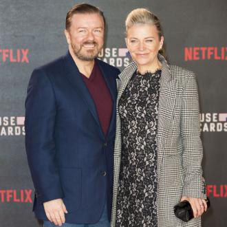 Ricky Gervais' partner called him a 'fat idiot'