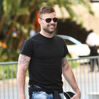 Ricky Martin's Twins Love Touring