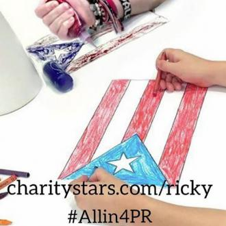 Ricky Martin selling T-shirts designed by his kids to raise money for Puerto Rico