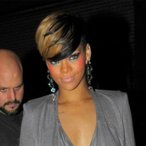 Rihanna Supports Fans