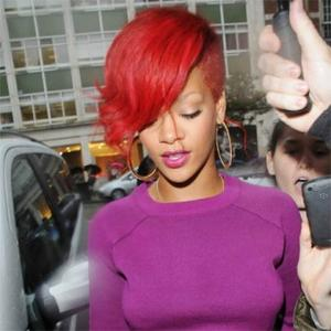 Rihanna Reveals Reason For Red Hair