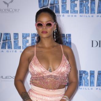 Rihanna Feels Shy Watching Her Performances Back