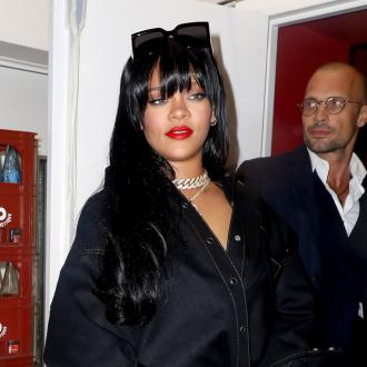 Rihanna plans to spend Valentine's Day in the studio