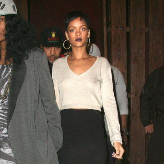 Rihanna Starts Christmas Shopping