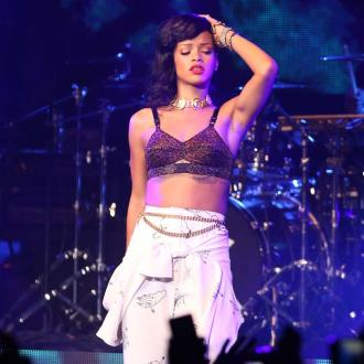 Rihanna Parties Beside Chris Brown's Ex