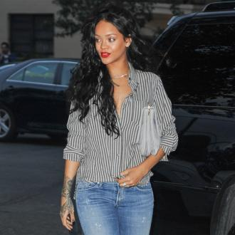 Rihanna Previews Lipstick Launch With Mac