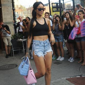 Rihanna 'Thankful' For Chris Brown