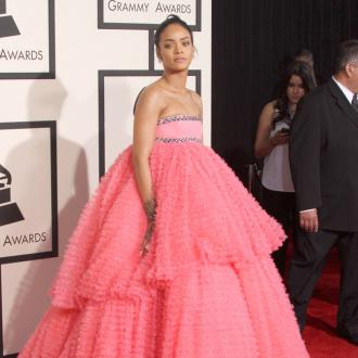 Rihanna 'Fell In Love' With Grammys Dress