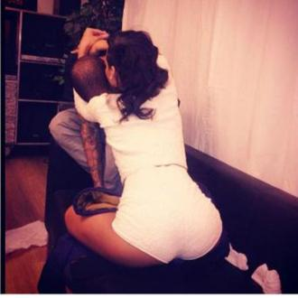 Rihanna And Chris Brown Reunite On Christmas Day