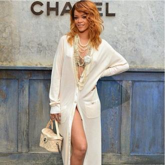 Rihanna Turns Heads At Chanel Fashion Show
