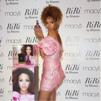Rihanna banned make-up artist's perfume