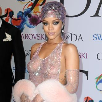 Rihanna Bares All On The Red Carpet